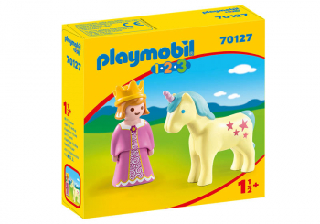Princess with Unicorn (Playmobil 1-2-3)