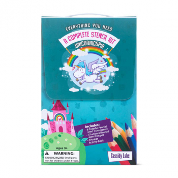 Unicorns Stencil Kit (Stencil Kits)