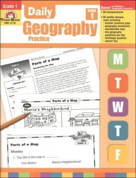 Daily Geography Practice Gr. 1
