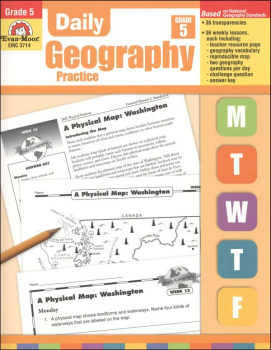 Daily Geography Practice Gr. 5