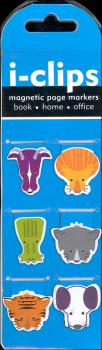 i-Clips Shaped Animals Magnetic Page Markers