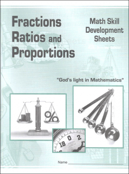 Fractions, Ratios, and Proportions Math Skill Development Worksheets