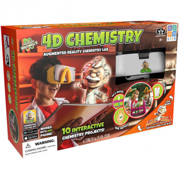 4D Chemistry Augmented Reality Science Kit (Professor Maxwell's 4 Lab)