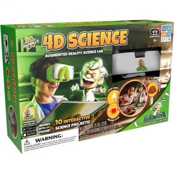 4D Science Augmented Reality Science Kit (Professor Maxwell's 4 Lab)