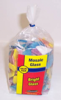 Mosaic Glass Bright Stained Glass Value Pack