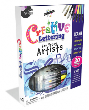 Creative Lettering for Young Artists (Petit Picasso)