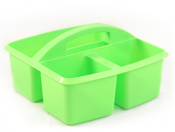 Small Utility Caddy - Opaque Lime