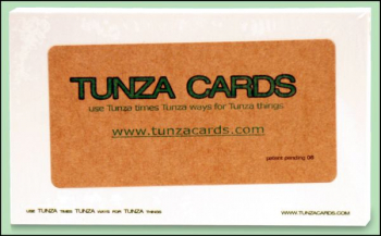 Tunza Cards - Set of 25 Reusable Index Cards