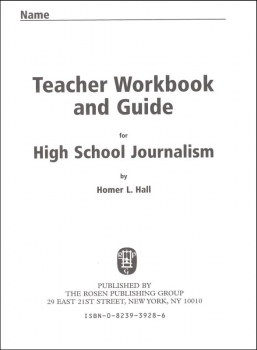 High School Journalism Teacher Workbook and Guide