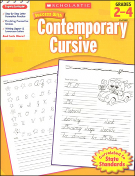 Contemporary Cursive (Scholastic Success With