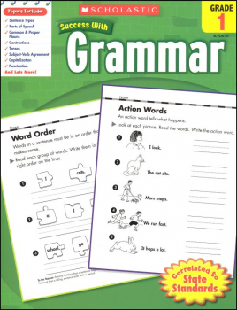 Grammar Grade 1 (Scholastic Success With)