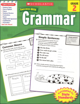 Grammar Grade 2 (Scholastic Success With)