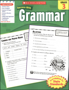 Grammar Grade 3 (Scholastic Success With)