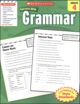 Grammar Grade 4 (Scholastic Success With)