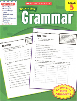 Grammar Grade 5 (Scholastic Success With)