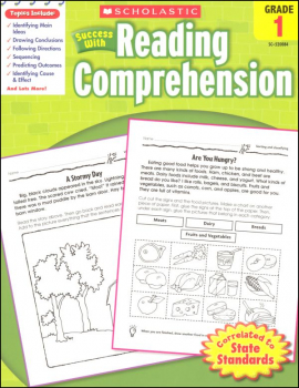 Reading Comprehension Gr 1 (Scholastic Success With)