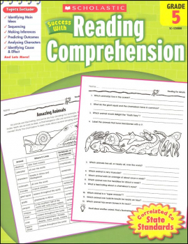 Reading Comprehension Gr 5 (Scholastic Success With)
