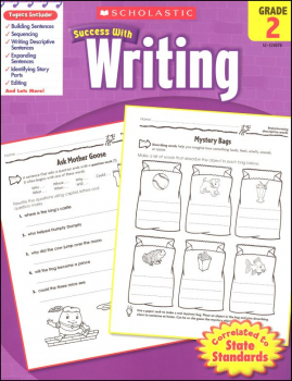 Writing Grade 2 (Scholastic Success With)