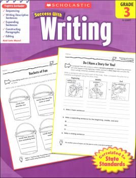 Writing Grade 3 (Scholastic Success With)