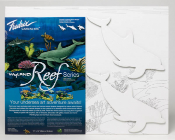 "Wyland Reef Series - Dolphins Kit (11"" x 14"")"