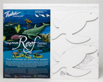 "Wyland Reef Series - Sea Turtles Kit (11"" x 14"")"