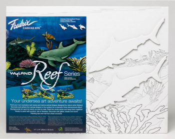 "Wyland Reef Series - Sharks Kit (11"" x 14"")"