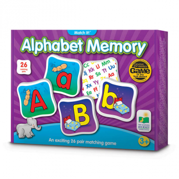 Match It! Alphabet Memory Game