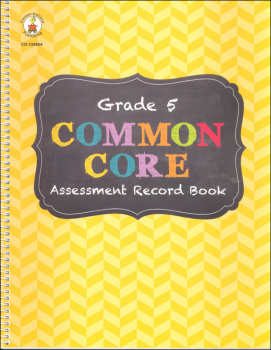 Common Core Assessment Record Book: Grade 5