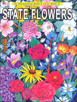 State Flowers (Educational Read & Color Book)