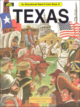 Texas (Educational Read & Color Book)
