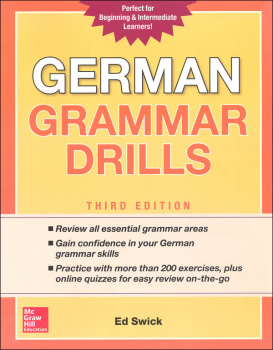 German Grammar Drills Third Edition