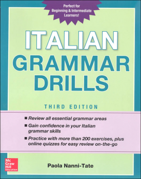 Italian Grammar Drills Third Edition