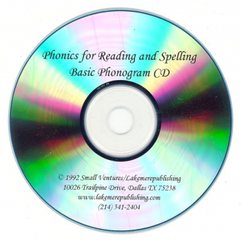 Phonics for Reading & Spelling Phonogram CD