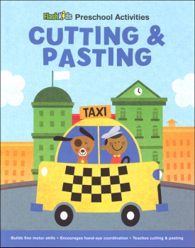 Cutting & Pasting: City Life (Flash Kids Preschool Activities)