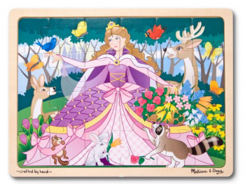 Woodland Princess Puzzle (24 Pieces)