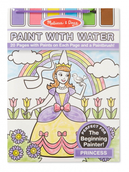 Paint With Water - Pretty Princess