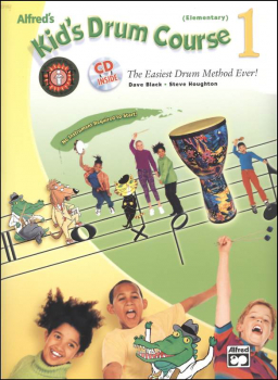 Alfred's Kid's Drum Course 1 w/ CD