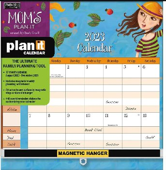 Mom's Plan-It Wall Calendar (August 2020 - December 2021)