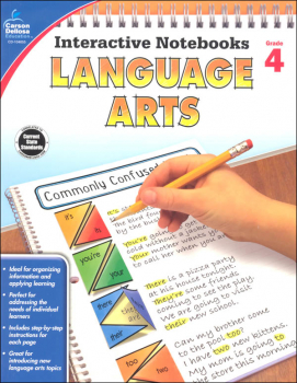 Interactive Notebooks: Language Arts - Grade 4