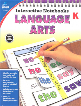 Interactive Notebooks: Language Arts - Grade K