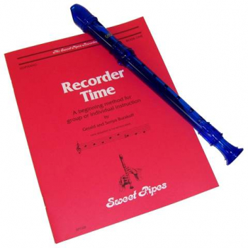 Canto Recorder & Recorder Time Bk - Blue
