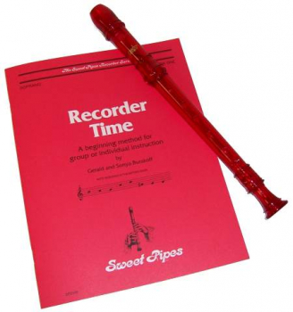 Canto Recorder & Recorder Time Bk - Red