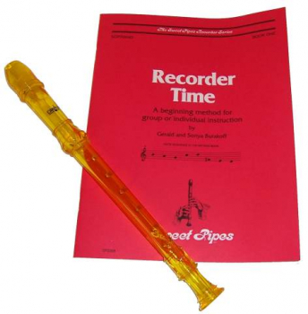Canto Recorder & Recorder Time Bk - Yellow