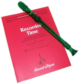 Canto Recorder & Recorder Time Bk - Green