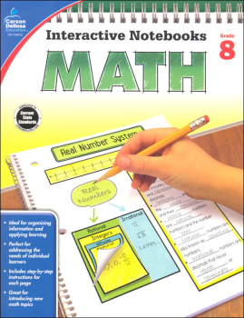 Interactive Notebooks: Math - Grade 8