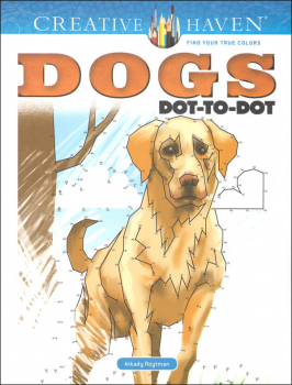 Dogs Dot-to-Dot (Creative Haven)