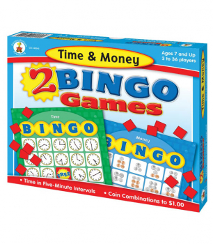 Time and Money Bingo Game