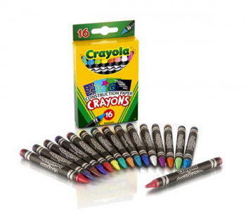 Crayola Construction Paper Crayons 16 Count