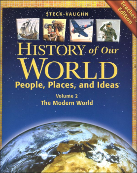 History of Our World Modern World Teacher Edition