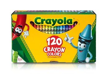 Crayola Crayons 120 Count Box